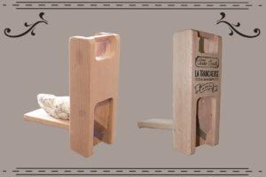 trancheuse à saucisson et guillotine à saucisson décorée