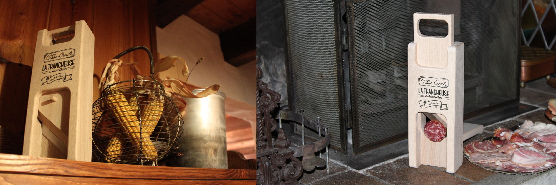 Trancheuse à saucisson Esprit Casse-croûte décorée