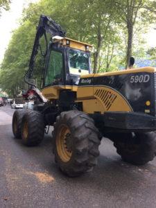 Stand Esprit Casse Croûte Fête du bois à Nantua 2-3 septembre 2017