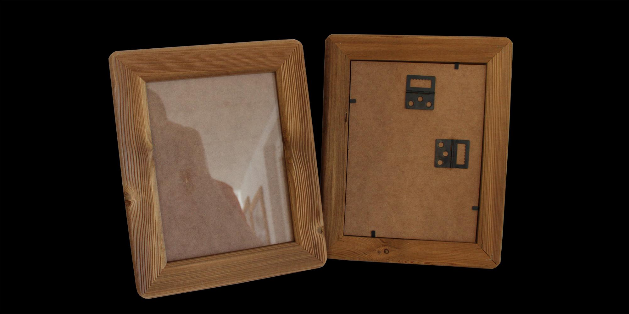 cadre bois mélèze brossé Esprit Casse-Croûte