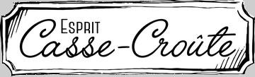 Esprit Casse-Croûte-La trancheuse à saucisson Logo