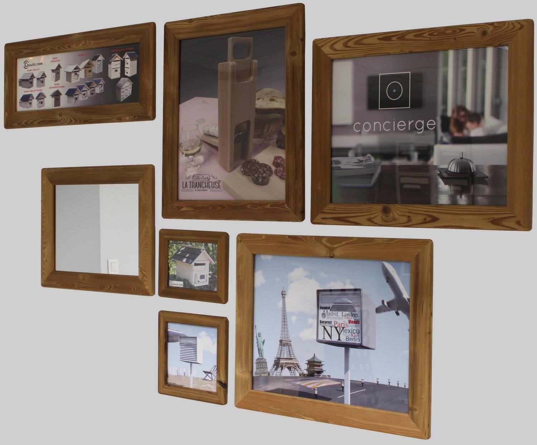 Cadre Au Dessus Du Canapé les cadres photos et miroirs – esprit casse-croûte-la